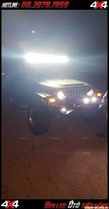 Image Đèn led bar vô vùng sáng giúp trợ sáng cho xe bốn bánh, xe bán tải vào ban đêm